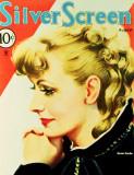 Greta Garbo - Silver Screen Magazine Cover 1930's Masterprint