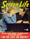 MacDonald, Jeanette - Screen Life Magazine Cover 1930's Masterprint