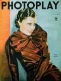 Irene Dunne - Photoplay Magazine Cover 1930's Masterprint