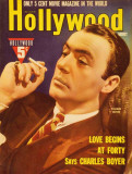 Charles Boyer - Hollywood Magazine Cover 1930's Photo