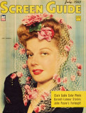 Ann Sheridan - Screen Guide Magazine Cover 1940's Masterprint