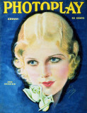 Ann Harding - Photoplay Magazine Cover 1930's Masterprint