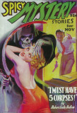 Spicy Mystery Stories - Pulp Poster, 1936 Photo