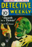 Detective Fiction Weekly - Pulp Poster, 1935 Masterprint