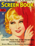 Mae West - Screen Book Magazine Cover 1930's Masterprint