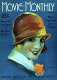 Sally Rand - Movie Monthly Magazine Cover 1920's Lámina maestra