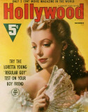 Young, Loretta - HollywoodMagazineCover1940&#39;s Masterprint