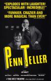 Penn & Teller - Broadway Poster , 1987 Masterprint