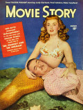 Ann Blyth - Movie Story Magazine Cover 1940's Masterprint