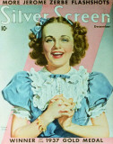 Deanna Durbin - SilverScreenMagazineCover1940's Lmina maestra