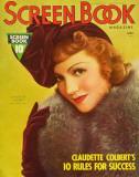 Claudette Colbert - ScreenBookMagazineCover1930's Masterprint