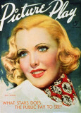 Jean Arthur - Picture-Play Magazine Cover 1920's Masterprint