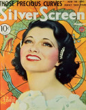 Kay Francis - Silver Screen Magazine Cover 1940's Masterprint