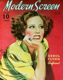 Irene Dunne - Modern Screen Magazine Cover 1940's Masterprint