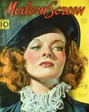 Hepburn, Katharine - Modern Screen Magazine Cover 1940's Masterprint