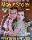 Goddard, Paulette - Movie Story Magazine Cover 1940's Masterprint