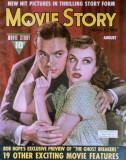 Goddard, Paulette - Movie Story Magazine Cover 1940's Masterprint