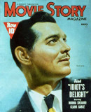 Clark Gable - Movie Story Magazine Cover 1940's Masterprint