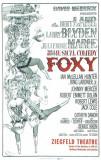 Foxy - Broadway Poster , 1964 Masterprint
