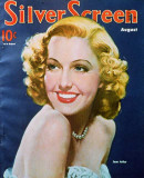 Jean Arthur - Modern Screen Magazine Cover 1930's Masterprint