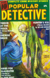 Popular Detective - Pulp Poster, 1939 Masterprint