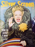 Betty Hutton - Silver Screen Magazine Cover 1940's Masterprint