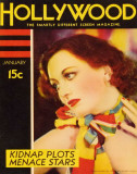 Joan Crawford - SilverScreenMagazineCover1940&#39;s Masterprint
