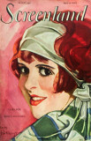 Clara Bow - Screenland Magazine Cover 1920's Masterprint