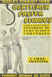 Gentlemen Prefer Blondes - Broadway Poster , 1949 Masterprint