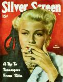 Rita Hayworth - Silver Screen Magazine Cover 1940's Masterprint