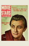 Robert Mitchum - Movie Stars Parade Magazine Cover 1940's Masterprint