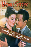 Hepburn, Katharine - Movie Story Magazine Cover 1940's Masterprint