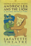 Androcles And The Lion - Broadway Poster , 1915 Masterprint