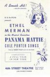 Panama Hattie - Broadway Poster , 1940 Masterprint