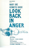 Look Back In Anger - Broadway Poster , 1957 Masterprint