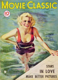 Jean Harlow - Movie Classic Magazine Cover 1930's Masterprint