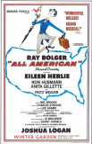All American - Broadway Poster , 1962 Masterprint