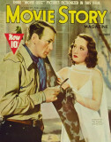 Merle Oberon - MovieStoryMagazineCover1940&#39;s Masterprint