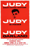 Judy In Person - Broadway Poster Masterprint