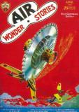 Air Wonder Stories - Pulp Poster, 1930 Masterprint