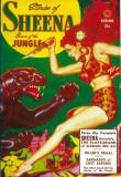 Sheena Queen of The Jungle - Pulp Poster, 1951 Masterprint