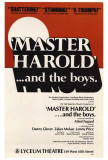 Master Harold And The Boys - Broadway Poster , 1982 Masterprint