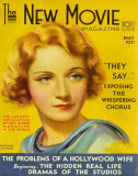 Marlene Dietrich - The New Movie Magazine Cover 1930's Masterprint