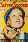 Carole Lombard - Silver Screen Magazine Cover 1930's Masterprint