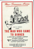 Man Who Came to Dinner, The - Broadway Poster , 1939 Masterprint