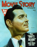 Clark Gable - Movie Story Magazine Cover 1940's Masterprint