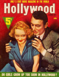 Bette Davis - Hollywood Screen Life Magazine Cover 1930&#39;s Masterprint