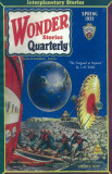 Wonder Stories Quarterly - Pulp Poster, 1932 Masterprint