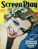 Margaret Sullavan - ScreenplayMagazineCover1930's Masterprint