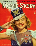 Sonja Henie - Movie Story Magazine Cover 1940's Masterprint